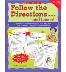 Follow the Directions . . . and Learn! Grades: 4-6