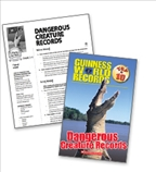Dangerous Creatures Records - Literacy Fun Pack Express