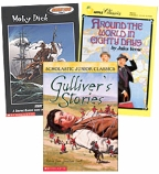 Scholastic Trio Individual Theme Unit Set 6, Language Arts - Classics, Grades 6-7