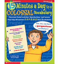 15 Minutes a Day to a Colossal Vocabulary