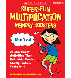 Super-Fun Multiplication Memory Boosters
