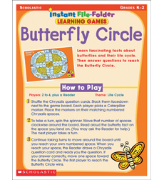 Instant File-Folder Learning Games: Butterfly Circle