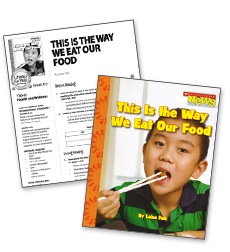 This is the Way We Eat Our Food - Literacy Fun Pack Express