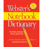 Webster's Notebook Dictionary Classroom Set