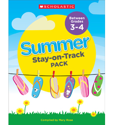Summer Stay-on-Track Pack Between Grades 3 and 4