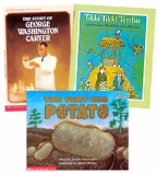 Scholastic Trio Individual Theme Unit Set 2, Language Arts - Multicultural Tales, Grades 2-3