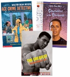 Scholastic Trio Individual Theme Unit Set 5, Language Arts - Author Study (Walter Dean Myers), Grades 5-6