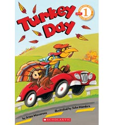 Scholastic Reader!® Level 1: Turkey Day