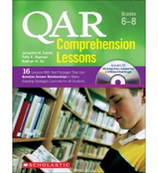 QAR Comprehension Lessons: Grades 6–8