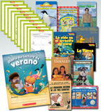 Summer Reading Spanish Fiction & Nonfiction Grade 2 (10 Books)
