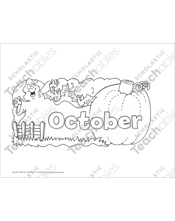 October Prekk Printable Packet By. October Prekk Printable Packet. Printable. Halloween Fun Printable Packets At Clickcart.co