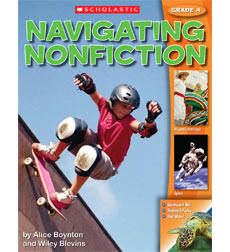 Navigating Nonfiction Grade 4 Student WorkText