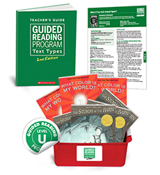 Guided Reading Text Types: Level U
