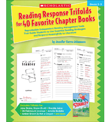 Reading Response Trifolds for 40 Favorite Chapter Books
