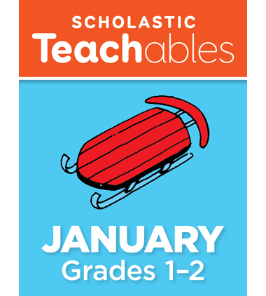 January Grades 1-2 Printable Packet