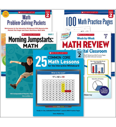 Grade 2 Math Skill-Builder Set