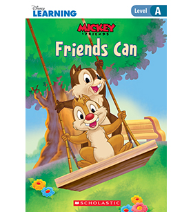 Mickey and Friends- Just-Right Leveled Readers- Level A: Friends Can