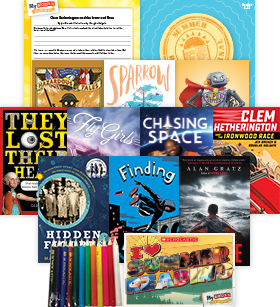 My Books Summer Grade 8 Fiction-Nonfiction Bundle