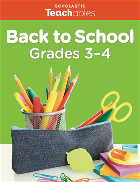 Back to School Grades 3-4 Pack