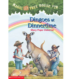 Magic Tree House: #20 Dingoes at Dinnertime