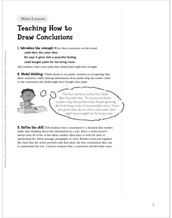 35 Reading Passages for Comprehension: Inferences & Drawing