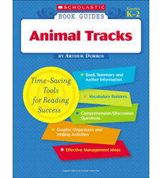 Scholastic Book Guides: Animal Tracks