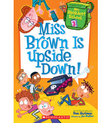 Miss Brown is Upside Down