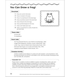 Draw a Frog in 8 Steps: Follow the Directions