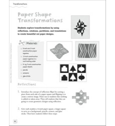 Paper Shape Transformations: Quick & Easy Math Art