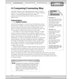 A Comparing-Constrasting Map: Better Than Book Reports