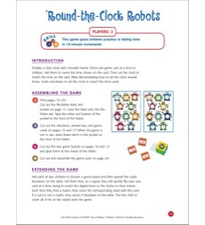 File-Folder Game - Time: Round-the-Clock Robots (time to 15 minutes)