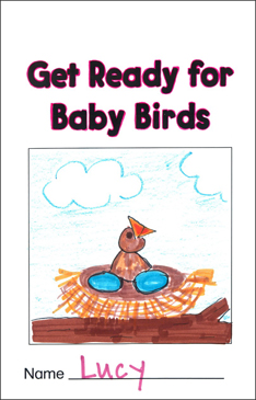 Get Ready for Baby Birds (Spring): Sequencing Mini-Book