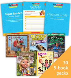 My Books Every Day Super Reader Grade 3 Classroom Set