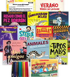My Books Summer Spanish Grade 4 Fiction-Nonfiction Bundle