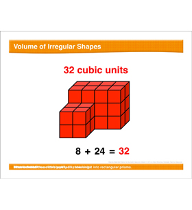 Math Review: Volume, Multiply Larger Numbers, Measurement Units, Decimals