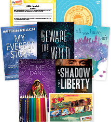 My Books Summer Grades 9-12 Literary Elements Pack