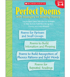 Perfect Poems With Strategies for Building Fluency: Grades 3–4