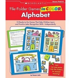 File–Folder Games in Color: Alphabet