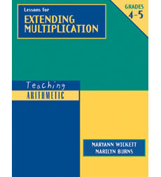 TA: Lessons for Extending Multiplication, Grades 4-5