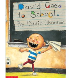 No, David!: David Goes to School