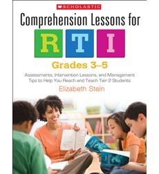 Comprehension Lessons for RTI: Grades 3-5