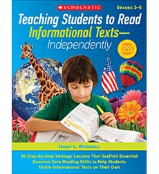 Teaching Students to Read Informational Texts-Independently!