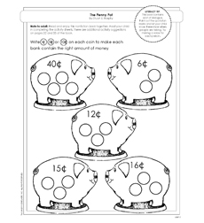 MathStart: The Penny Pot - Activity Sheet