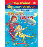 The Magic School Bus® Chapter Books: The Great Shark Escape