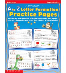 Alphatales A To Z Letter Formation Practice Pages By