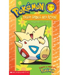 Pokémon™ Reader: Togepi Springs To Action 9780439429917