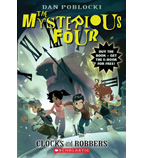 The Mysterious Four: Clocks and Robbers