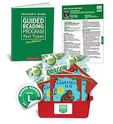 Guided Reading Text Types: Level L