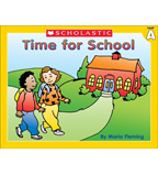 Little Leveled Readers: Time For School (Level A)