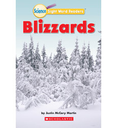 Science Sight Word Readers: Blizzards